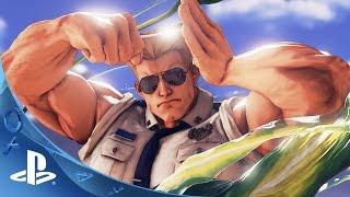 Street Fighter V - Guile Trailer | PS4