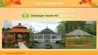 Gazebo Kits - Check Out The Top Gazebo Kits