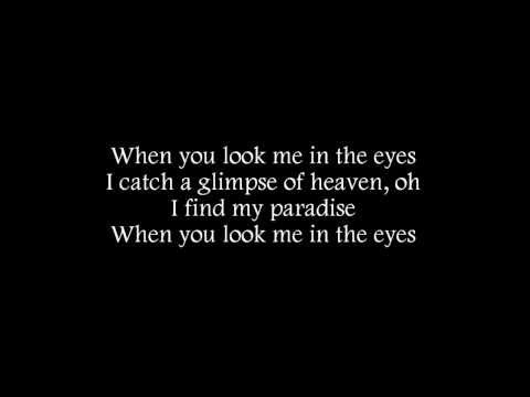 Jonas Brothers - When You Look Me In The Eyes (Lyrics on Screen)