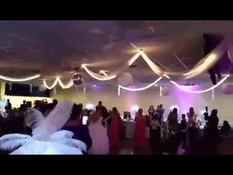 Bride Jackie Rewrites Ice Ice Baby For Groom And Raps At Wedding