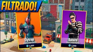 **FILTRATE** ALL SKINS AND BAILES! FORTNITE: Battle Royale