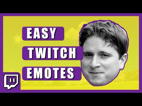 How To Make Twitch Emotes - Quick And Easy