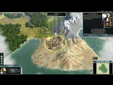 Civilization V Tutorial - Movement and Exploration |