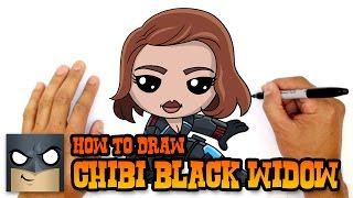 How to Draw Black Widow | The Avengers