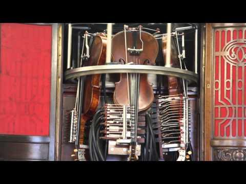 "Hupfeld Phonoliszt Violina Modell B - ""Home in Pasadena"""