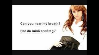 Nanne Grönvall - Håll om mig (Lyrics + English Translation)