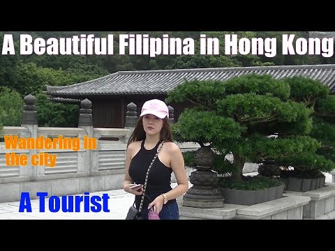Travel to ASIA: A Beautiful Filipina from Manila Philippines Who Traveled to Hong Kong