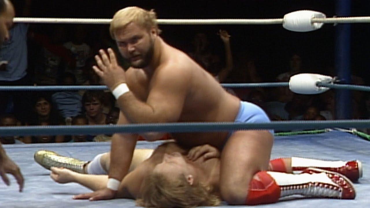 Anderson & Blanchard vs Angel & Stevens: NWA Championship Wrestling, July 25, 1987
