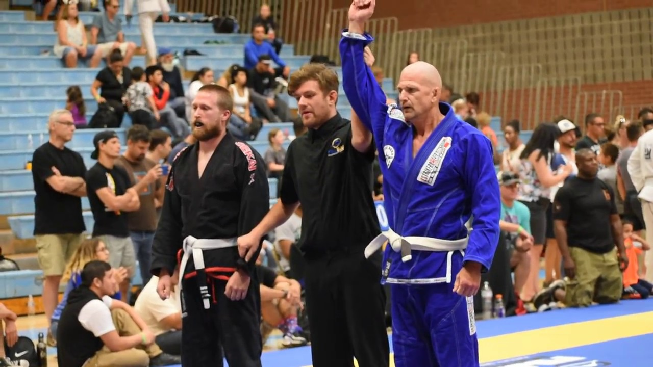 McPherson Fuji BJJ Tournament Match 1 Full