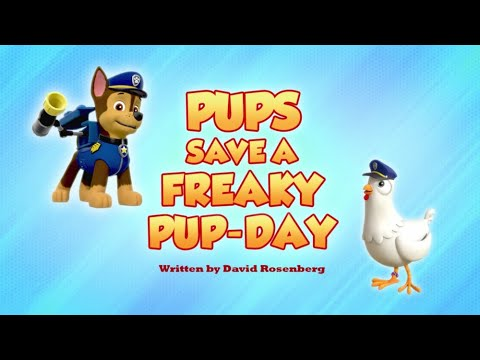 Видео: Pups Save a Freaky Pup-Day