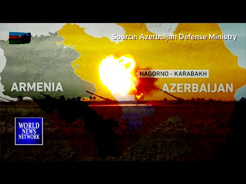 Intense Azeri-Armenian fighting draws world powers