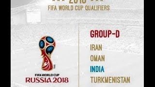 Video Fifa World Cup 2018 Qualifiers India Match Schedule download MP3, 3GP, MP4, WEBM, AVI, FLV November 2017