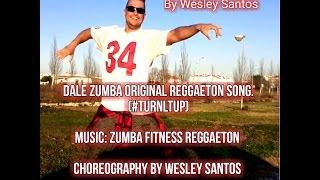 Zumba coreo Reggaeton Original Song  Zumba Fitness