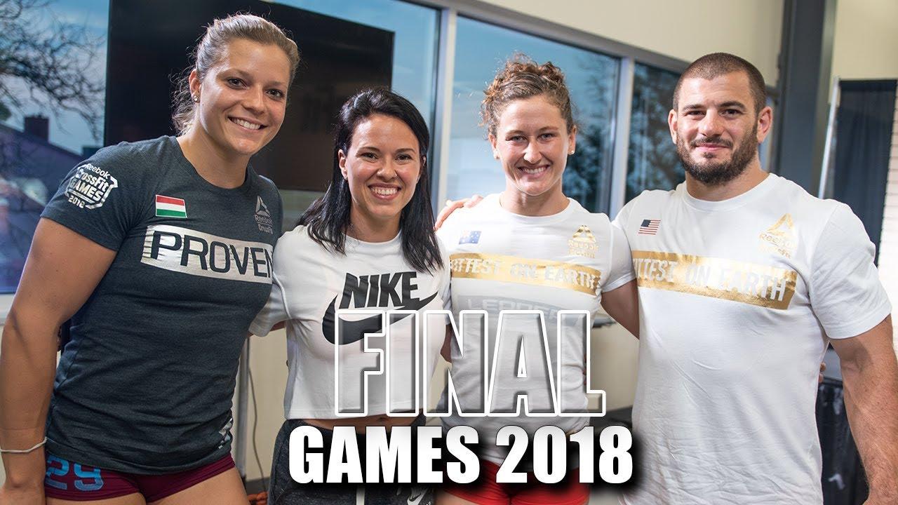 The CrossFit Games Individual Fibonacci Final