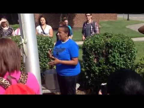 Holloway High School - Mrs. Drayton Ice Bucket Challenge