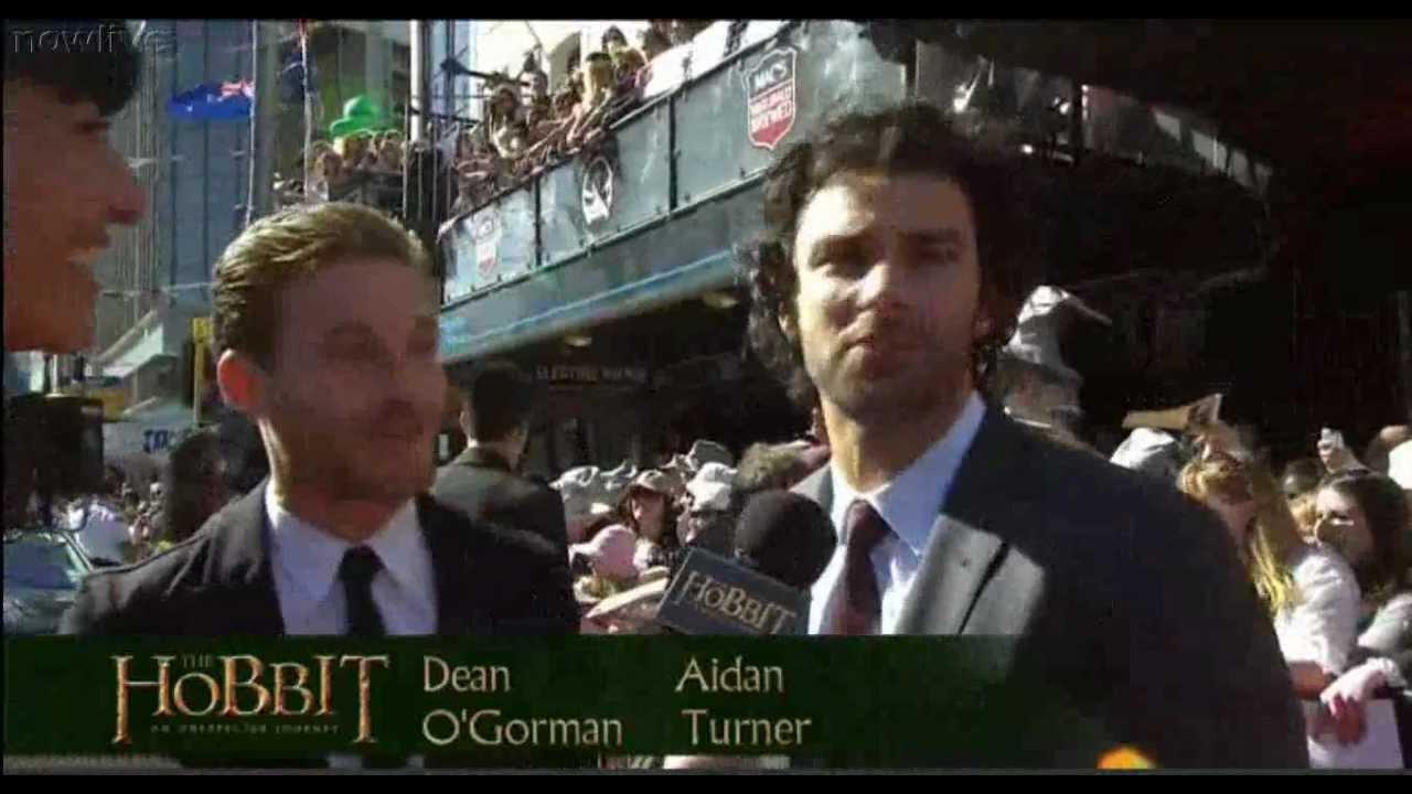 Aidan turner and dean ogorman