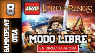"""Lego El Señor de Los Anillos Guia - Walkthrough - Modo Libre - Parte 8 """"Amon Hen"""""""