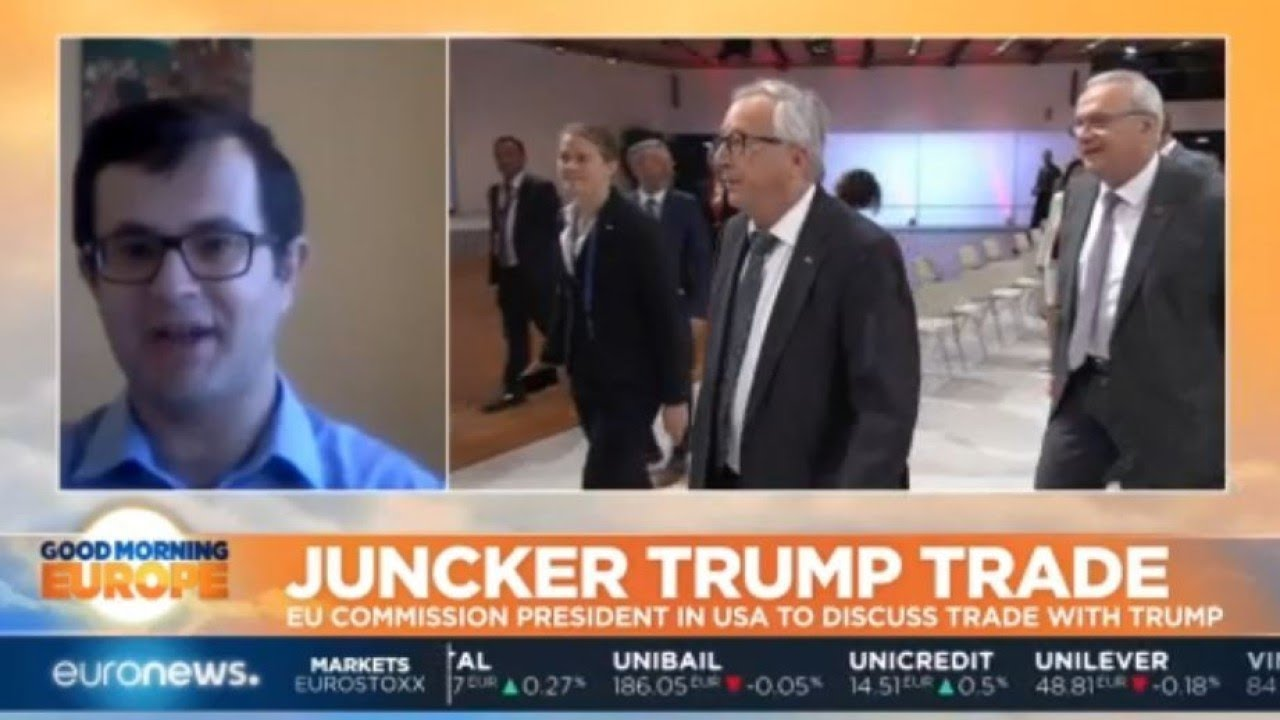 Juncker Trump Trade: EU Commission President visits Washington to discuss trade with Trump