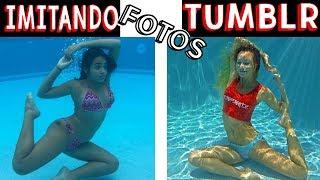IMITANDO FOTOS TUMBLR NA PISCINA  8 -  Muita Diversão thumbnail