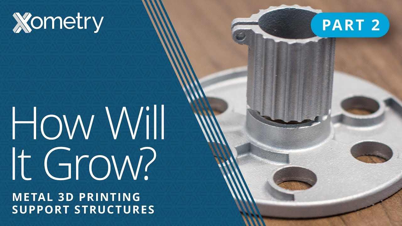 Metal 3D Printing Support Structures: How Will It Grow? Part 2