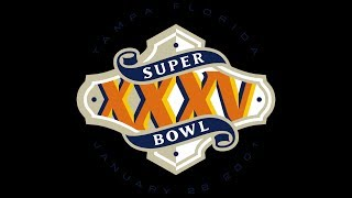 SUPER BOWL 35 RAVENS GIANTS