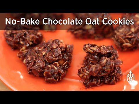 No-Bake Chocolate Oat Cookies #ClassIRecipes