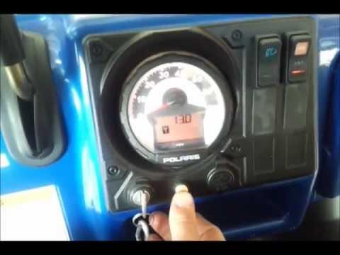 Check Engine Light Flashing >> Discountutvtires.com 2008 Polaris Ranger service wrench reset / check engine light - YouTube