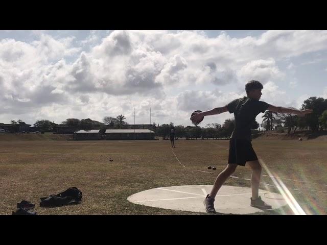 #VSA2020 / Boys 17 / Yden Faul / Discus / 27.43m