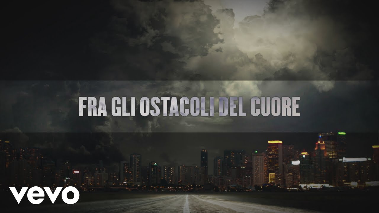 Giorgia Gli Ostacoli Del Cuore Lyric Video Ft Elisa Youtube