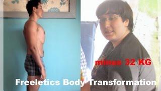 Freeletics Transformation München, Minus 33KG Body transformation