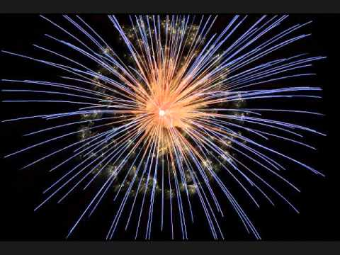 Fireworks launch and explosion sound effects