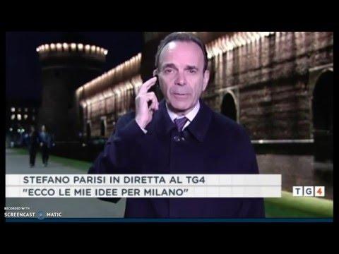 Intervista di Stefano Parisi TG4 10 Marzo 2016