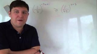 Алгебра 11 класс. 14 октября. Показательные неравенства #2