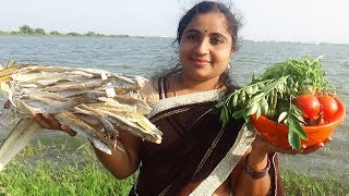 DRY FISH AND EGGPLANT CURRY RECIPE | FISH BRINJAL KI CURRY | NEVER SEN BEFORE LONG RIBBONFISH FILLET