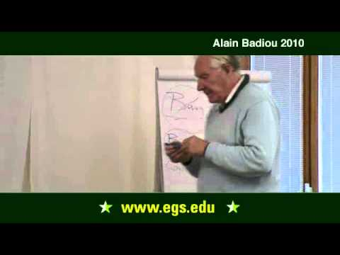 Alain Badiou. The Process of Philosophy. 2010.