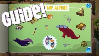 GUIDE TO THE NEW CALL OF THE ALPHA'S JOURNEY BOOK!   Animal Jam