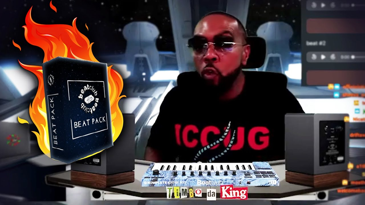 Timbaland finds FIRE BEAT PACK 🔥