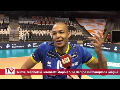 Nimir, Giannelli e Lorenzetti dopo Berlino-Trento 1-3