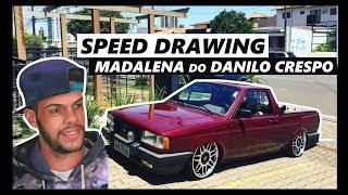 SPEED DRAWING - SAVEIRO MADALENA DO DANILO CRESPO