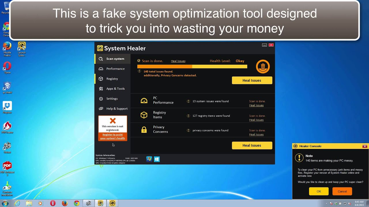 System restore on laptop to get rid of viruses?