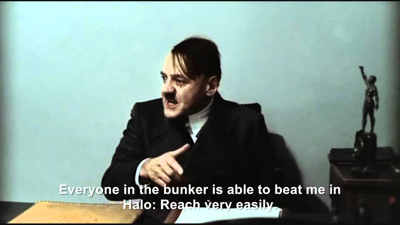 Hitler Reviews: Halo Reach