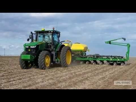 Planters started hitting the fields @ ENREC (spring 2020)