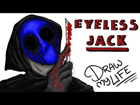 EL ORIGEN DE EYELESS JACK | Draw My Life  (este #miércolesdeterror toca creepypasta)