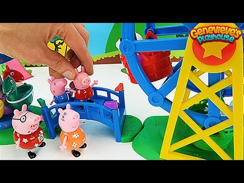 Best Peppa Pig Learning Video for Kids - Georges Birthday Party Adventure!