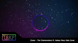 Closer-The Chainsmokers ft.Halsey Macy Kate Cover(Nightcore version)