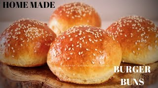 Bakery Quality Home Made Burger Buns    | Morris Time Cooking