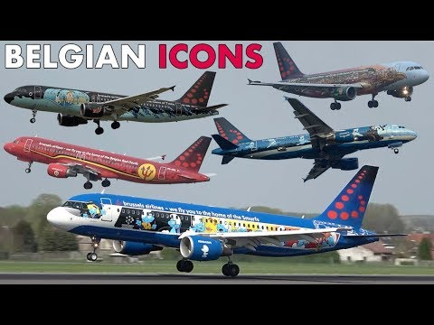 Brussels Airlines BELGIAN ICONS Airbus Planes