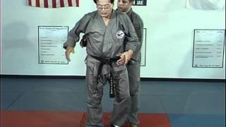 Hapkido Rear Under Arm Bear Hug Techniques 6 thru 10, Ji Han Jae