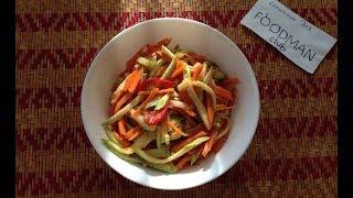 Кабачки по-корейски: рецепт от Foodman.club