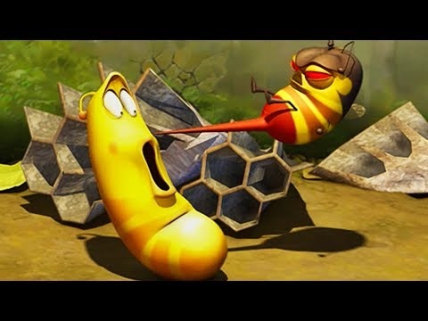 LARVA - BEE STING | Cartoon Movie | Cartoons For Children | Larva Cartoon | LARVA Official